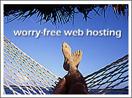worry-free web hosting